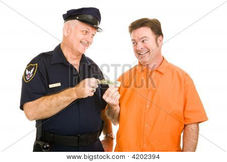 Policeman Accepts Bribe