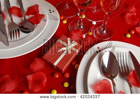 Romantic Dinner Table
