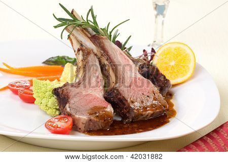 Rosemary Lamb Chops