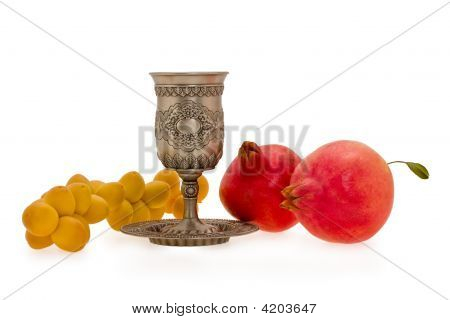 Cup And Fruits
