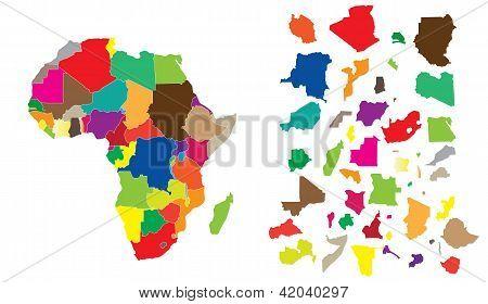 Africa Continent Puzzle