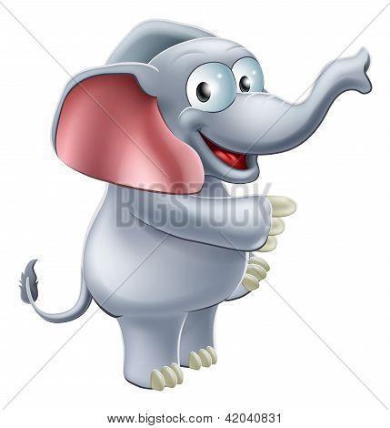 Elephant Pointing