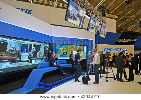 Amsterdam - Jan 29: Integrated Systems Europe (ise) Exhibition In Amsterdam, Netherlands On January