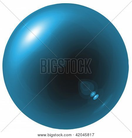Glare Blue Ball