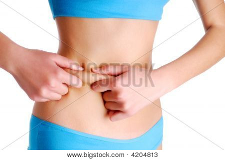 Cellulite On Human Body