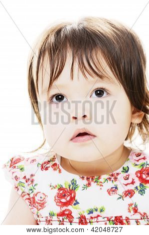 Portrait Of Toddler