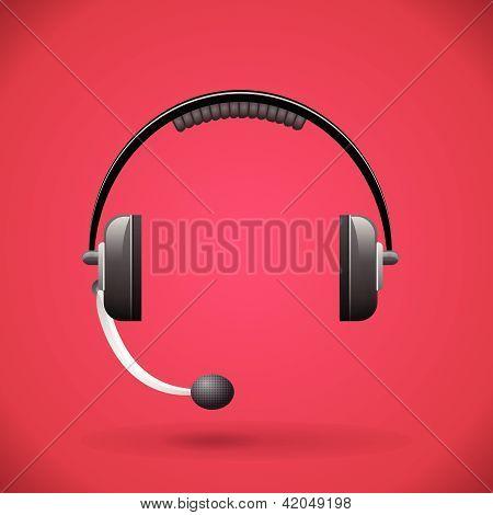 Customer service headphone