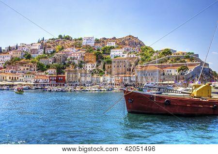 Beautiful Greek Island, Hydra