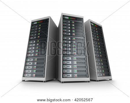 Red de servidores de ti