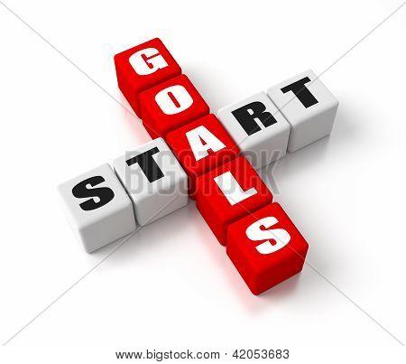 Start Defining Goals Red