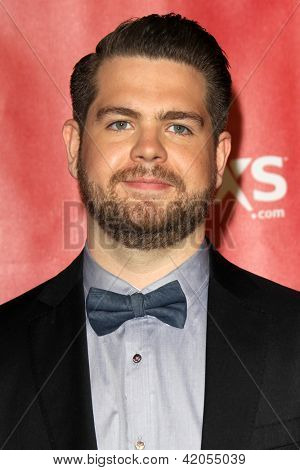 LOS ANGELES - FEB 8:  Jack Osbourne arrives at the 2013 MusiCares Person Of The Year Gala Honoring Bruce Springsteen  at the Los Angeles Convention Center on February 8, 2013 in Los Angeles, CA
