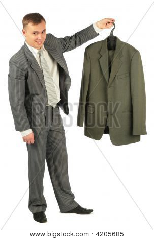 Businessman With New Suit