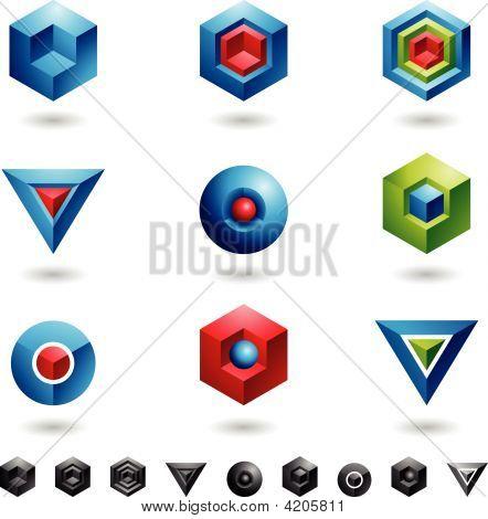 3D Geometrical Shapes