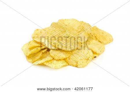 Grooved Potato Chips