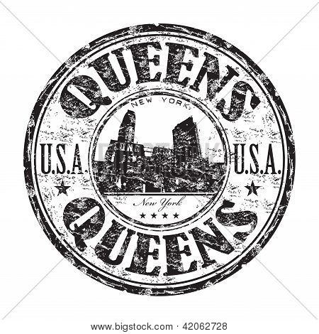 Queens rubber stamp