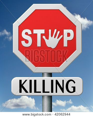 stop killing no guns ban weapons end the war and violence