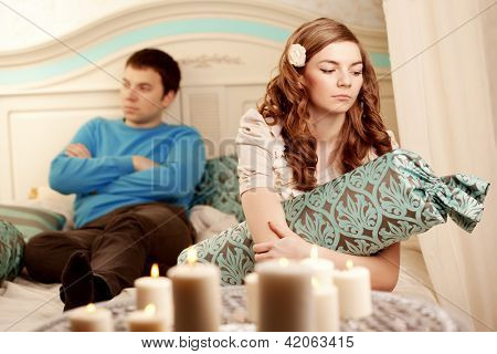 Quarrel and hurt two loving home