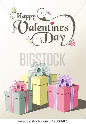 Valentine Gift Greeting Card