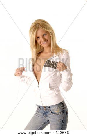 Sexy Girl Teasing