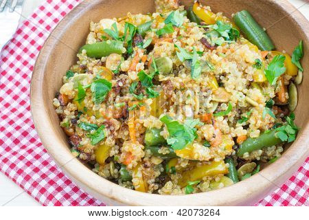 Stir-fry With Quinoa