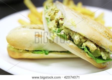 Chicken sandwhich