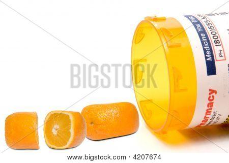 Prescription Orange Pills