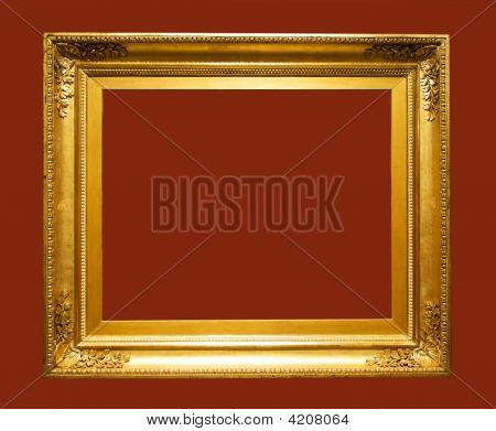 Aged Picture Frame