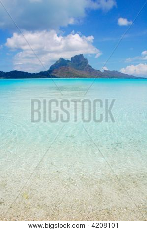 Bora Bora Island And Lagoon