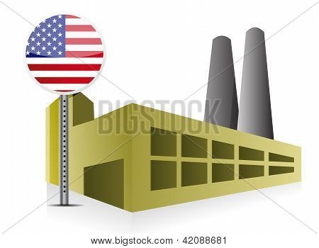 American Us Industrial Building Factory And Power