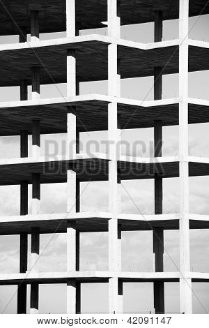 Black And White Structure