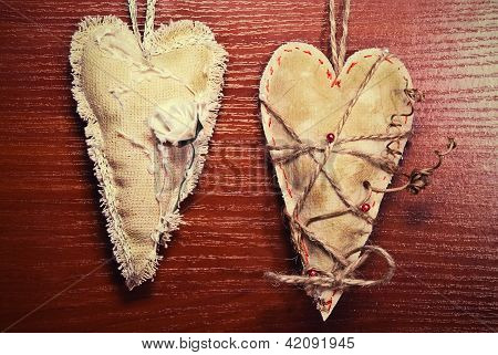 Couple Vintage Heart