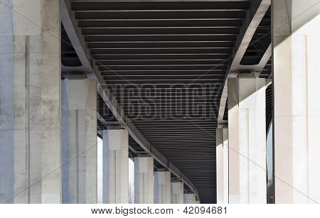 Poling Of Bridge