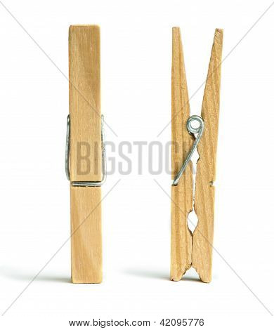 Clothes Natural Wooden Peg