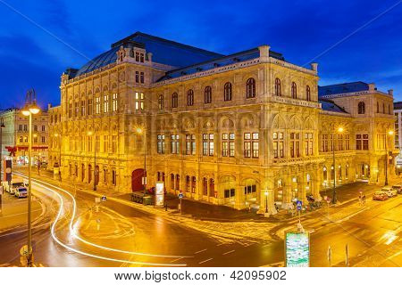 State Opera House in Vienna, Austria
