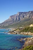 picture of 12 apostles  - The 12 Apostles seen from Victoria Road in the Cape Peninsula South Africa - JPG