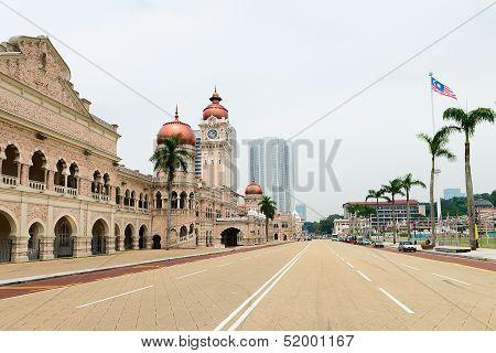 Independence Merdeka Square In Kuala Lumpur