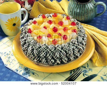 Tutti Fruiti Cake