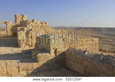 Byzantine Church at Avdat, ancient of Nabateans PeopleAvdat, the ancient city of Nabateans People