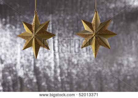 A Group Of Christmas Star