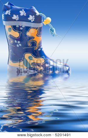 Rain Boots Reflection