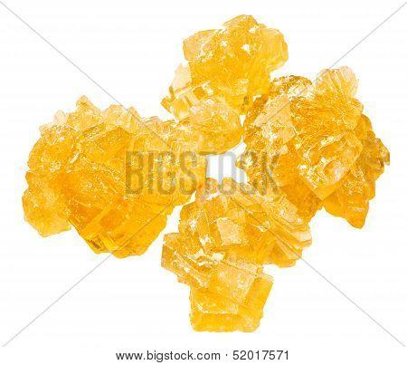 Yellow Crystalline Caramelized Sugar