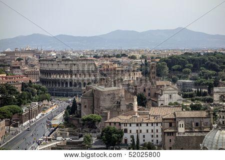 Colosseum, Roma, Italy