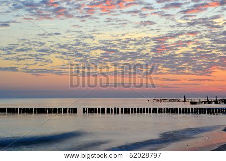 Early morning on the Baltic coast