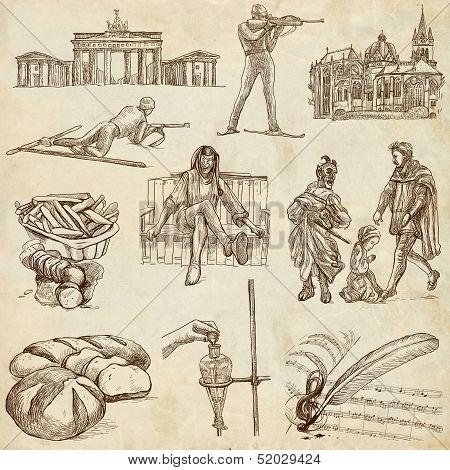 Germany Illustrations