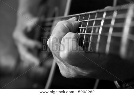 Acoustic Guitar Hands