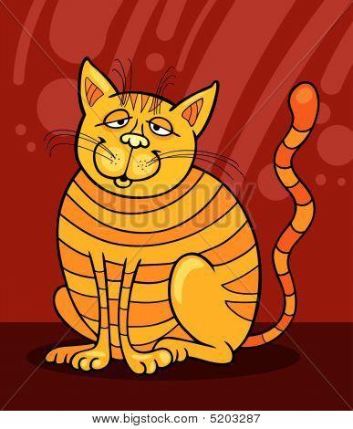 Yellow Cat Smiling
