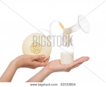 Electric Breast Pump To Increase Milk Supply For Breastfeeding Mother