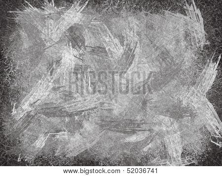 Black And White Illustration Of School Board