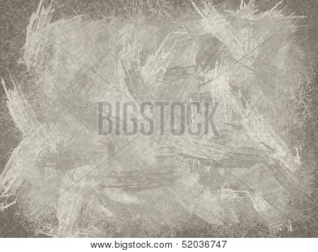 Sepia Illustration Of School Board As Abstract Background