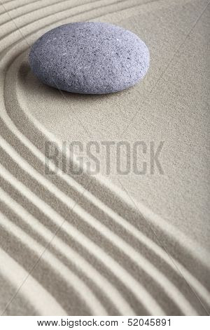 zen sand stone garden japanese meditation relaxation and spa image spiritual balance round rock